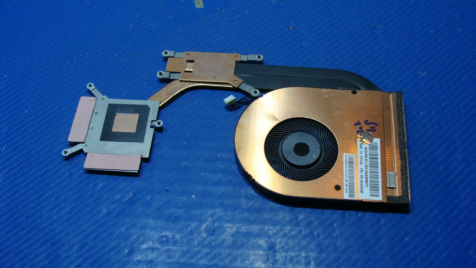 New Genuine Heatsink and Cooling Fan For Lenovo Thinkpad E570 AT11P001DT0 01EN340
