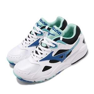 Mizuno-Sky-Medal-White-Blue-Black-Men-Running-Casual-Shoes-Sneakers-D1GA1924-25
