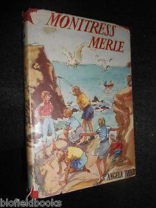 ANGELA-BRAZIL-Monitress-Merle-c1950s-Vintage-Girls-Childrens-Fiction-Novel