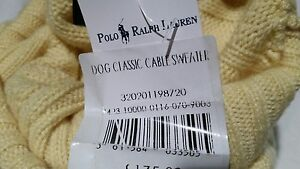 authentic RALPH AUREN 100 Cashmere designer Dog Sweater  jumper Size L NEW - <span itemprop='availableAtOrFrom'>millisle, Down, United Kingdom</span> - Returns accepted Most purchases from business sellers are protected by the Consumer Contract Regulations 2013 which give you the right to cancel the purchase within 14 days after t - <span itemprop='availableAtOrFrom'>millisle, Down, United Kingdom</span>