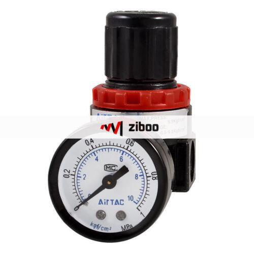 AR-2000 Air Source Compressor Pneumatic Regulator w Pressure Gauge