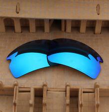 fc85350335 BVANQ Polarized Replacement Lenses for-Oakley Flak 2.0 OO9295 Blue Mirror