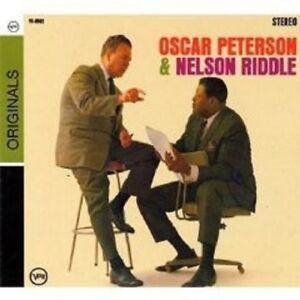 """OSCAR PETERSON """"OSCAR PETERSON & NELSON RIDDLE"""" CD NEW! - Weinstadt, Deutschland - OSCAR PETERSON """"OSCAR PETERSON & NELSON RIDDLE"""" CD NEW! - Weinstadt, Deutschland"""