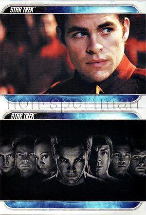 2009 STAR TREK MOVIE PROMO P1 P2 SET