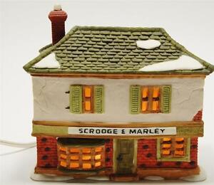 Dept 56 Heritage Village Christmas Carol Scrooge Marley Counting House 6500 5 Ebay