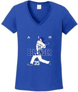 the best attitude 4d519 42d37 Details about V-NECK Ladies Cody Bellinger Los Angeles Dodgers
