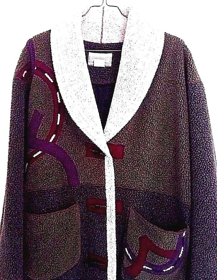 Coldwater Creek Medium  Large   X- Large Womens Coat Winter Long Duster CLEANERS