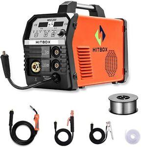 HITBOX-MIG-Welder-200AMP-Gas-Gasless-MIG-ARC-Lift-TIG-Inverter-Welding-Machine