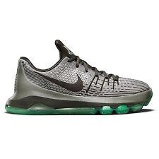 New Nike KD 8 GS Youth Basketball Shoes Big Kids Boys Grey Black Green : Size 6Y