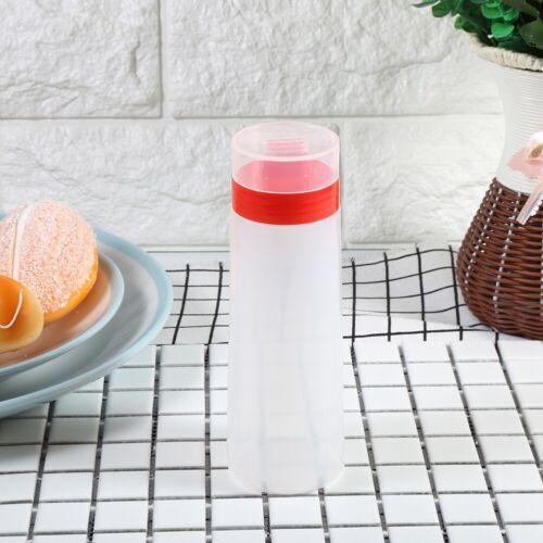 4-Hole Squeeze Bottle Condiment Dispenser Sauce Vinegar Oil Jam Cooking Tools