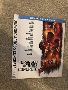 Traîné à travers le béton Blu-ray SLIP Housse Uniquement (sans disques) lire description