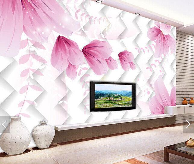3D Blossom 4079 Wallpaper Murals Wall Print Wallpaper Mural AJ WALL UK Carly