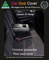 Seat Cover Fits Jeep Cherokee Rear Armrest Access Waterproof Neoprene