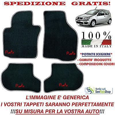 Vari Colori,Qualità Tappetini Auto Personalizzabili Tappeti Fiat Punto Classic