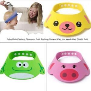 Baby-Kids-Shampoo-Bath-Bathing-Shower-Cap-Hat-Wash-Safe-Hair-Shield-Head-Wear