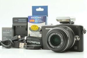 [MINT] OLYMPUS E-PM1 12.3MP Camera + M.ZUIKO DIGITAL 14-42mm f3.5-5.6 JAPAN 140