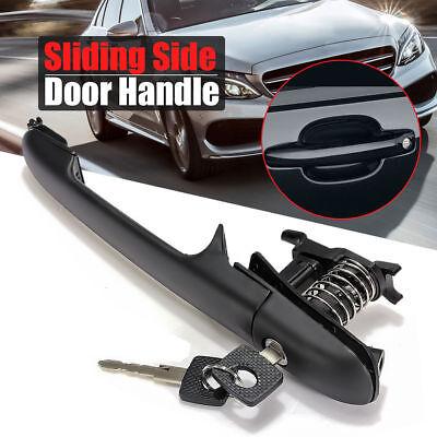 Left Right Sliding Side Door Handle 2 Keys For Mercedes