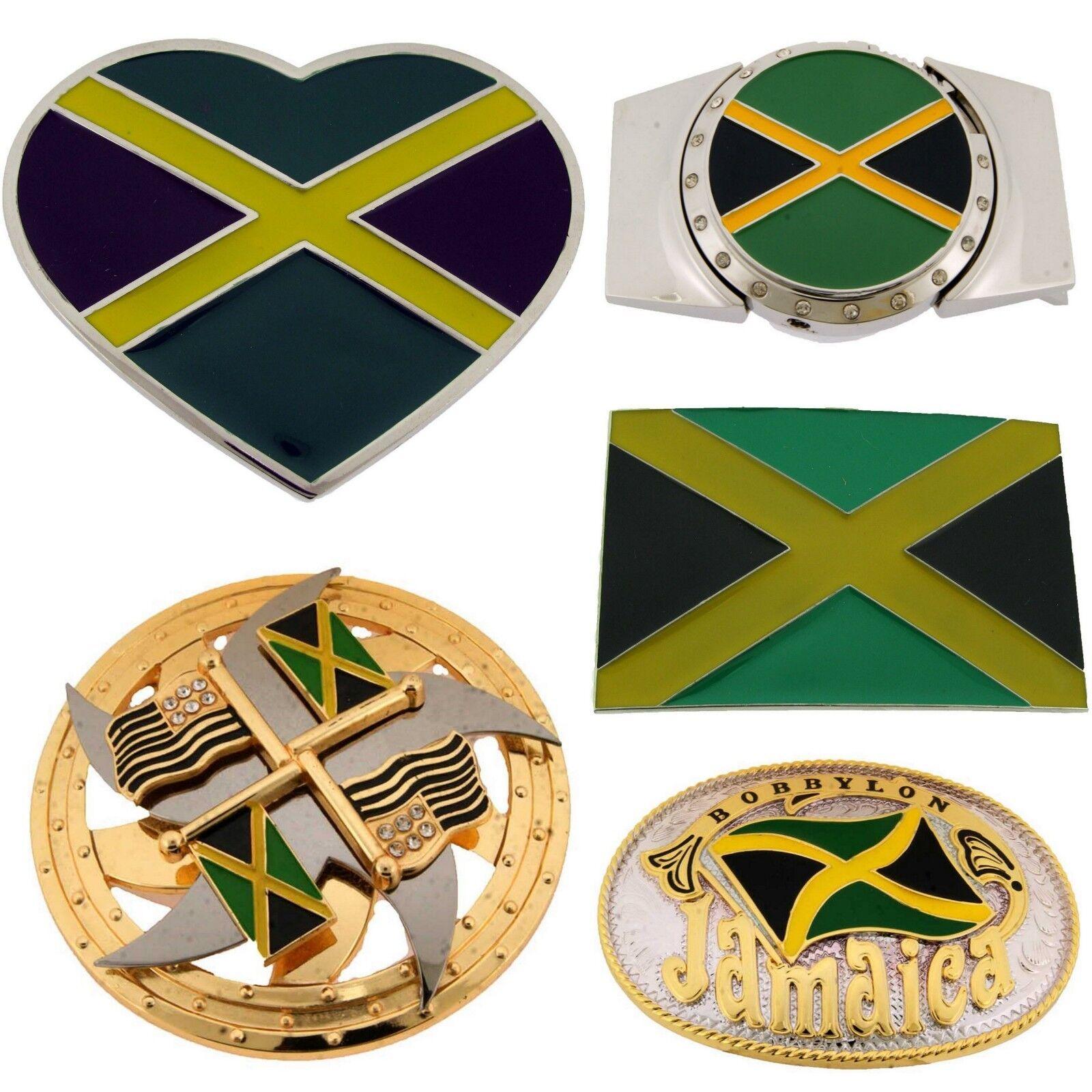 Jamaica Jamaikanisch People Karibik Land Gürtelschnalle Nation aus Metall Mode