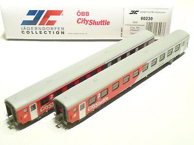 Accurato JÄgerndorfer N Öbb 2 Parte. City Shuttle Complemento Rosso/grigio Jc60230 Nuovo Ovp-mostra Il Titolo Originale Lieve E Dolce