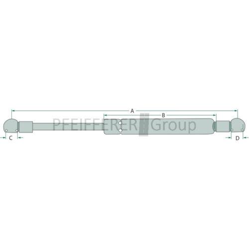 Case IH V-Nr 1-99-976-036 STABILUS Gasdruckfeder f