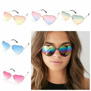 a313a0e5da Image is loading Sunglasses-Womens-Heart-Shape-Festival-Lolita-Style-Fancy-