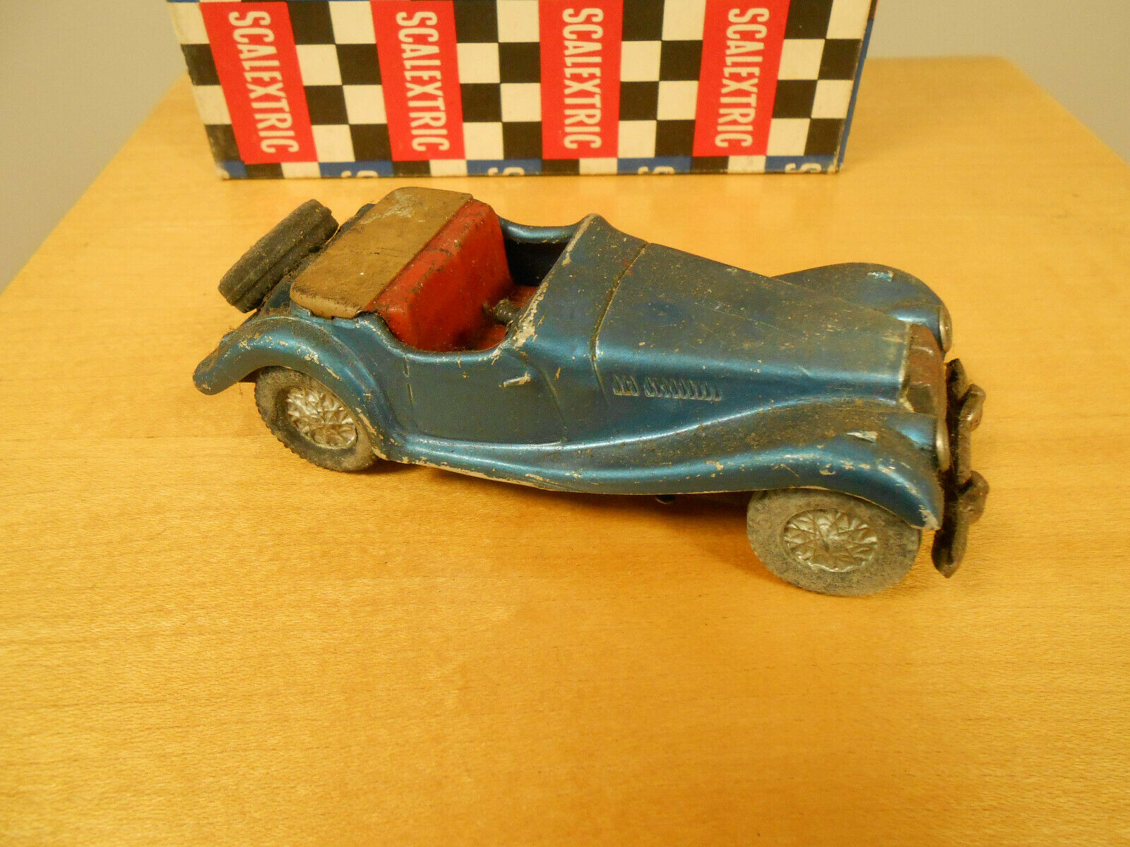 Scalex MG TF 1950's Tinplate Friction Drive