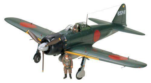 Tamiya 60318 Mistubishi A6M5 Zero Fighter Modello 52 (Zeke) 1 32 Scala Kit