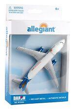DARON Airplane Allegiant Airlines DIECAST MODEL TOY RLT2324