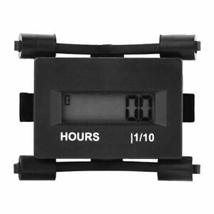 12V-24V-36V-48V-AC-DC-Hour-Meter-Gauge-For-Automobile-Boat-ATV-Motorcycle-Engine