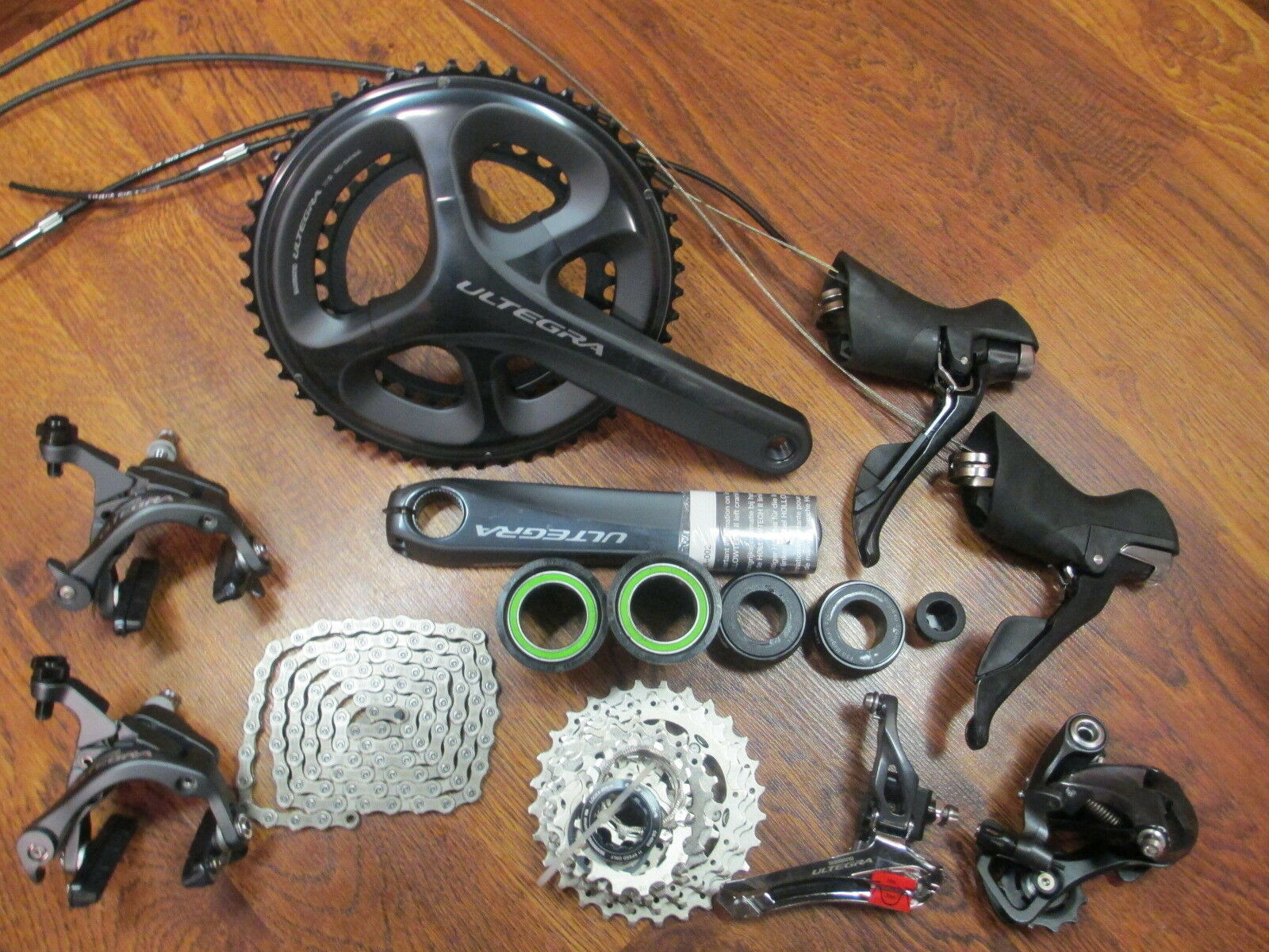 SHIMANO ULTEGRA 6800 172.5 50 34 11-28 GROUP GROUPPO BUILD KIT 11 SPEED DOUBLE