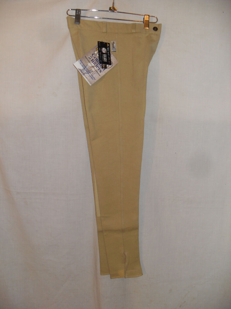 NEW LADIES SIZE 26 REGULAR  LT TAN BREECH WITH CLARINO KNEE BY COMFORT  RIDER  the classic style