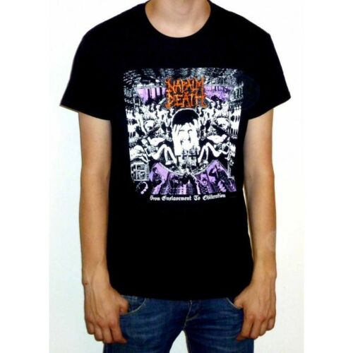 """utilitarian Napalm Death /""""From Enslavement To Obliteration/"""" Classic T-shirt"""