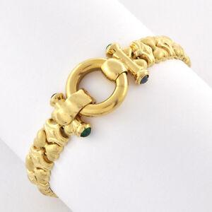 Image Is Loading Lovely Modern Design 14k Gold Fincy Links Flexible