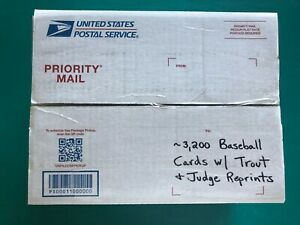 Lot-of-3-200-Baseball-Cards-NM-MT-In-Medium-Flat-Rate-Box-TROUT-amp-JUDGE-Cards