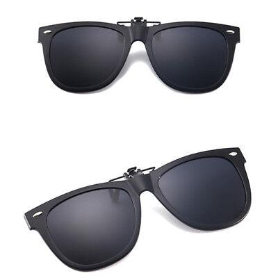 Polarized Lenses Flip-Up Clip On Sunglasses UV400 Driving Outdoor Glasses Cute