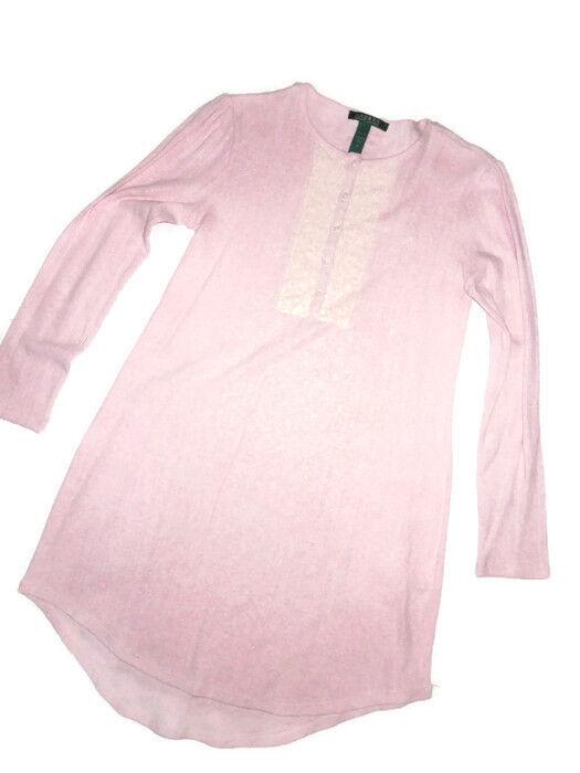 POLO Ralph Lauren Pajamas Night Gown Sleep brighton knits sleepwear SMALL S