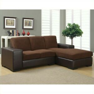 Peachy Dark Brown Corduroy Brown Leather Look Sofa Lounger Creativecarmelina Interior Chair Design Creativecarmelinacom