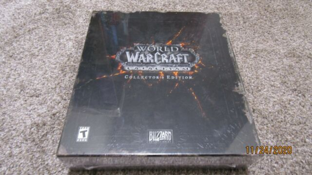 Brand New World of Warcraft: Cataclysm -- Collector's Edition