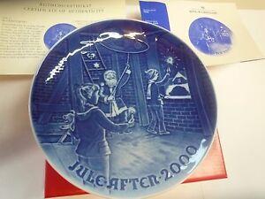 Bing & Grondahl Piatto di Natale 2000 - Christmas Plate -Rivenditore Autorizzato