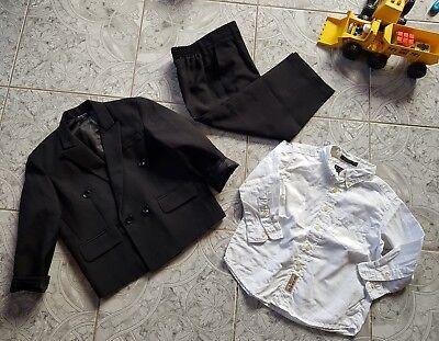 *m.mode*kinder/junge Anzug Taufanzug /hochzeit Mit Hemd Gr.3/gr.98 SorgfäLtig AusgewäHlte Materialien
