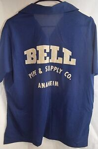 Vintage-Nat-Nast-Shirt-W-Bell-Pipe-Supply-Co-Anaheim-Graphics-Size-44-46