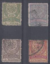 Turkey - Scott 83-86 Used (couple small faults) - Catalog Value $176.50