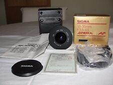 Near Mint Sigma AF Aspherical 18-35mm f/3.5-4.5 Aspherical AF Lens