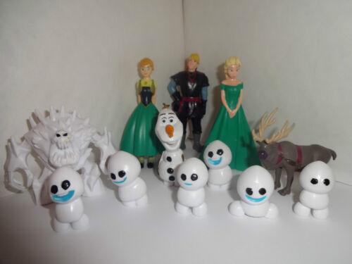 Olaf Frozen fièvre 12 glaçages pour gâteau et 1 cadeau gratuit Gratuit P+P Neuf