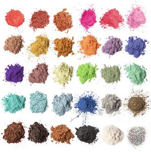 MENNYO Epoxidharz Farbe, Mica Pulver Glitter Seifenfarbe Set Pigment 30 Farben (