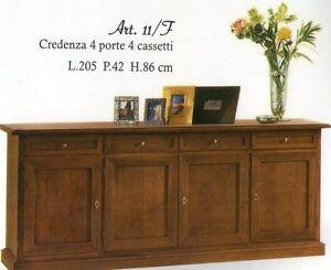 Credenza Arte Povera Vintage : Credenza arte povera legno credenze vetrina cristalliera classiche