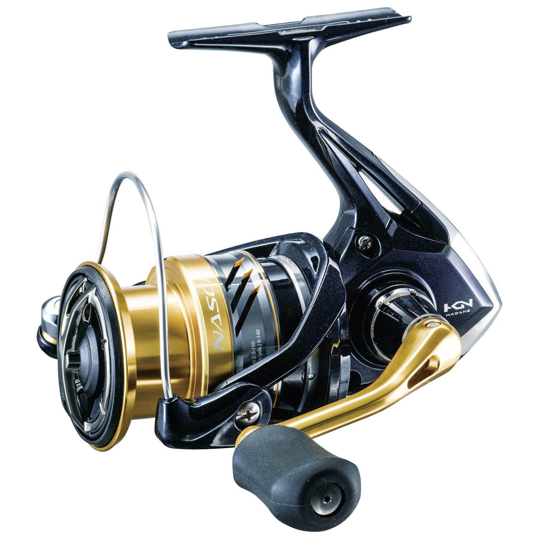 SHIMANO Nasci 2500 Spinning Reel 5.0 1 Gear Ratio  NAS-2500FB
