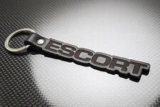 ESCORT MK2 Luxury Leather Keyring Schlüsselring Porte-clés FORD GHIA RS2000 RS