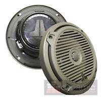 Jl Audio Mx650-ccx-cg-tb 6.5 Marine Boat Coaxial Speakers 2-way Titanium Black