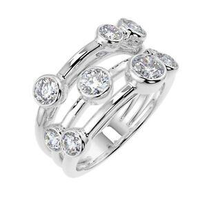 1-00Ct-Round-Diamond-Bubble-Ring-UK-Hallmarked-18k-White-Gold
